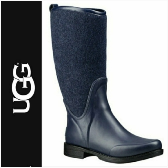 0a5f5c75d0c *PRICE DROP* 💦 UGG®️ 💦 Reignfall Wool Rain Boots NWT